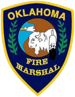 Oklahoma Fire Marshall badge