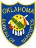 Oklahoma Bureau of Narcotics Badge